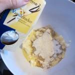Soja-Dinkel-Schnecken mit Zimt & Vanille